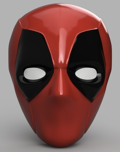 Deadpool Mask 3D Print 148207