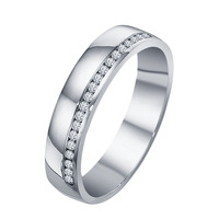 Small Wedding Band 3D CAD Model In STL Format 3D Printing 148230