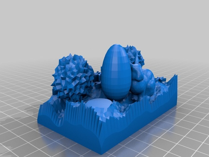 the easter bunny smaller 3D Print 14828