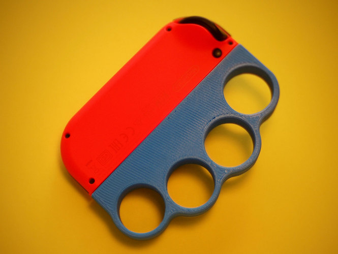 3D Printed Joycon & Knuckles by Tokytome | Pinshape