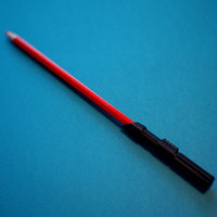 Small Lightsaber Pencil Extender 3D Printing 148295