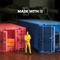 Small Cargo Container (Large) 3D Printing 148322