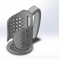 Small Can/Bottle Holder 3D Printing 148339