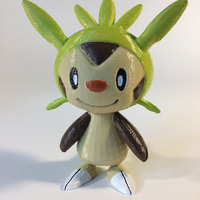 Small Chespin Pokémon Character 3D Printing 148483