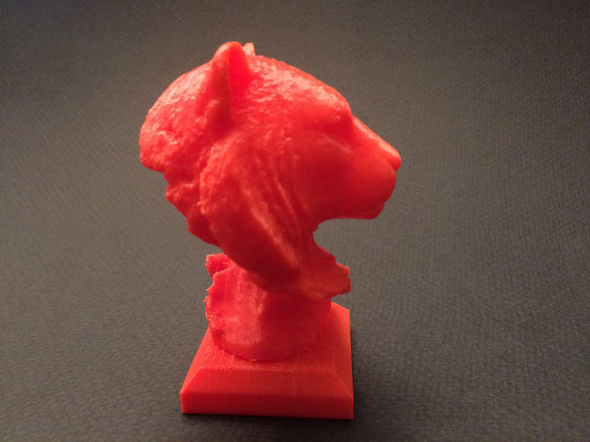 Tiger Head Sculpture 3D Print 148490