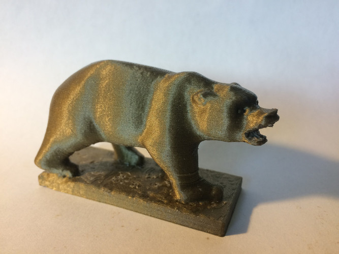 Grizzly Bear Statue - University of California Berkeley 3D Print 148505