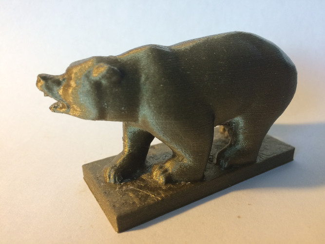 Grizzly Bear Statue - University of California Berkeley 3D Print 148506