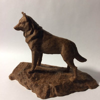 Small Husky Statue - Michigan Tech 3D Printing 148512