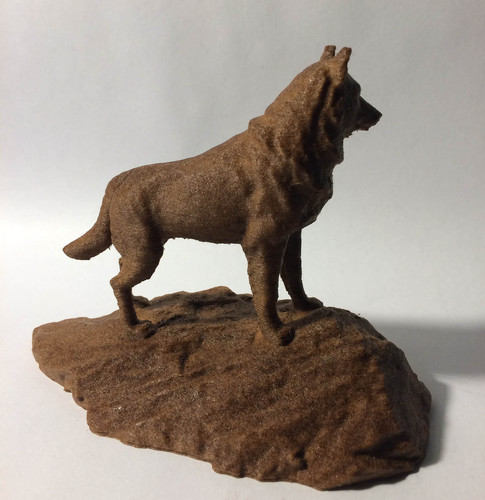 Husky Statue - Michigan Tech 3D Print 148513