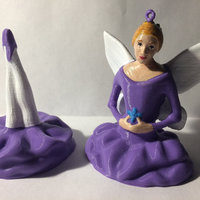 Small Snowflake Fairy Ornament 3D Printing 148514