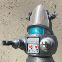 Small Robby the Robot 3D Printing 148516