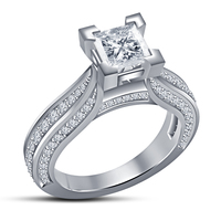 Small 3D Jewelry CAD Model For Beautiful Wedding Ring In STL Format 3D Printing 148542