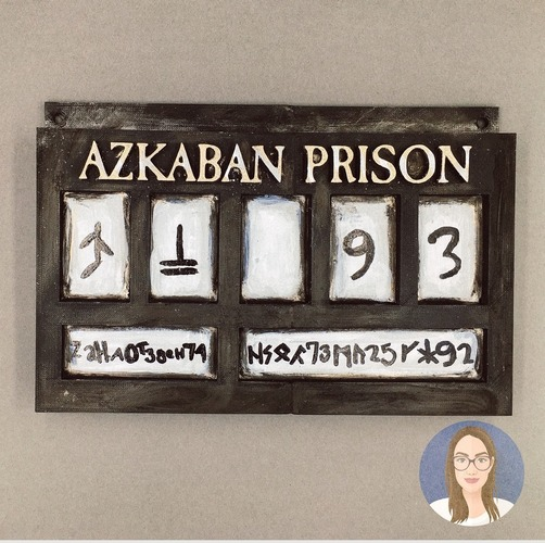 Harry Potter Prison of Azkaban Sign 3D Print 148585