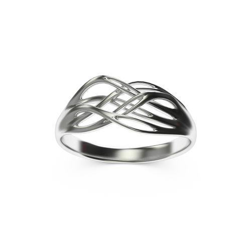 Roots shape ring 3D Print 14859