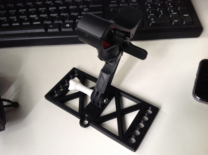 MAvic Phone holder base  (design does not include the clamp) 3D Print 148645