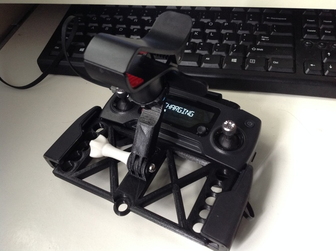 MAvic Phone holder base  (design does not include the clamp) 3D Print 148647