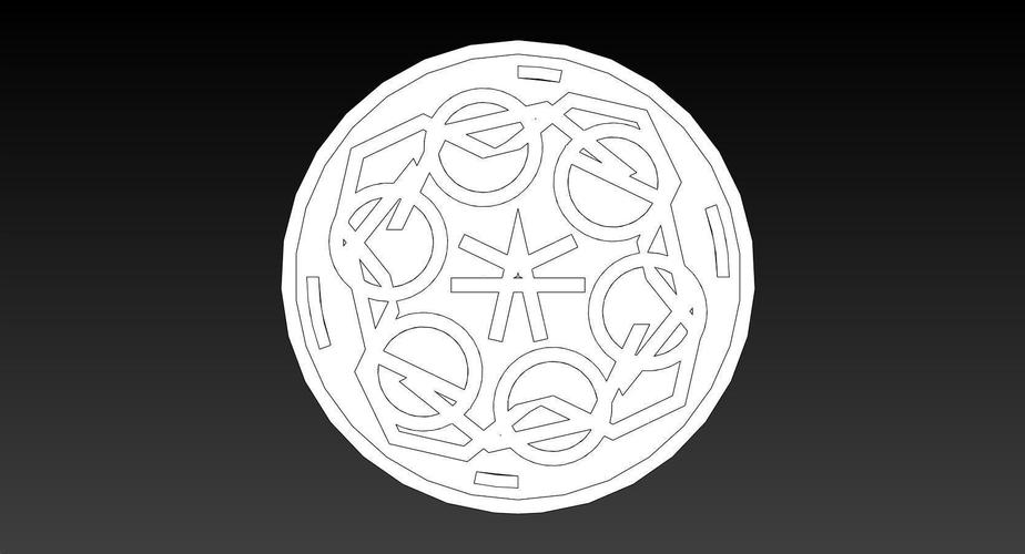 100mm ManHole Cover Coins 3D Print 148652