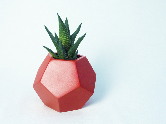Dodecaedro planter 3D Print 148756