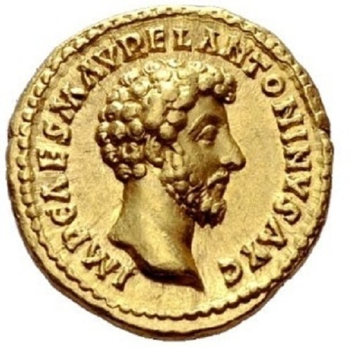 Renovation of a Marcus Aurelius aureus on a ring 3D Print 148844