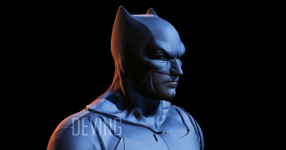 Batman justice league cowl v1.2 3D Print 148942