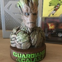 Small Stand for the Groot Bust 3D Printing 148947