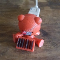 Small SD reader man 3D Printing 149015