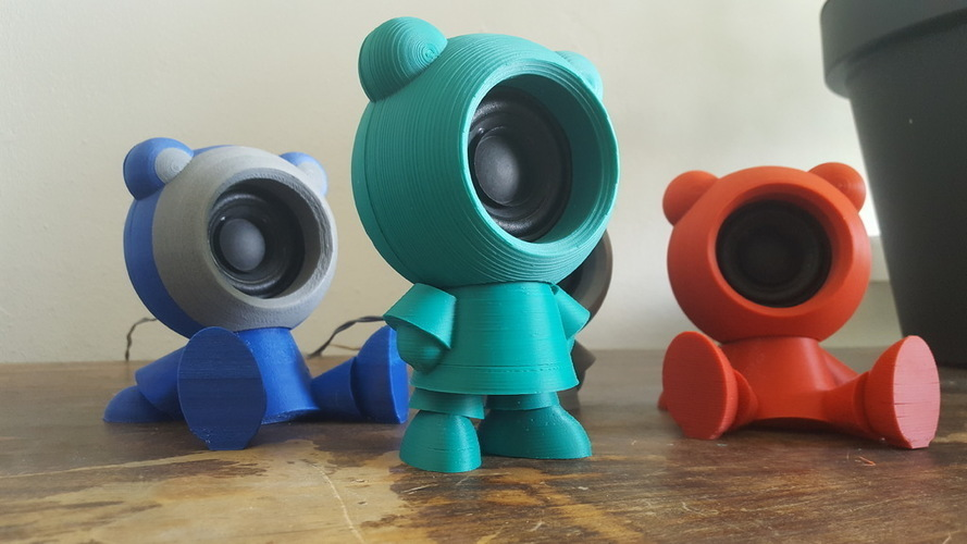 Speaker Friends 3D Print 149046