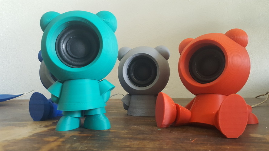 Speaker Friends 3D Print 149047