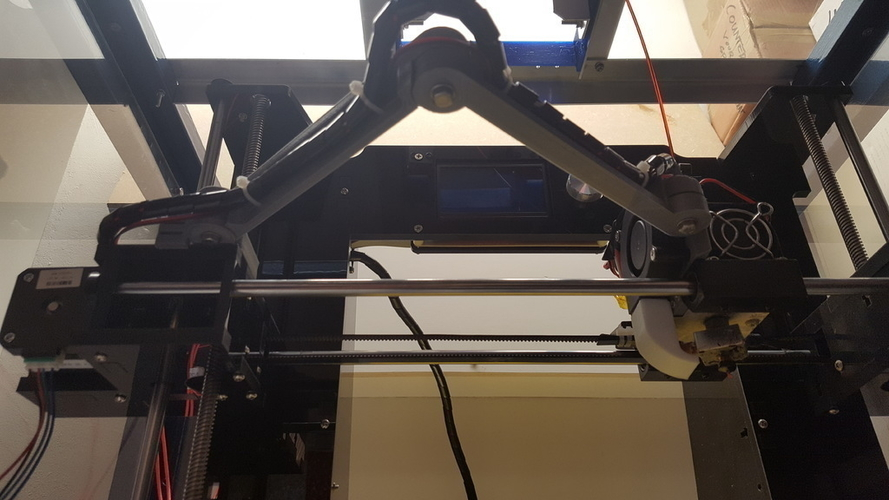 Anet A6 Cable holder X wagon 3D Print 149077