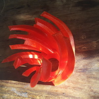 Small Wild Reflection Lamp 3D Printing 149078