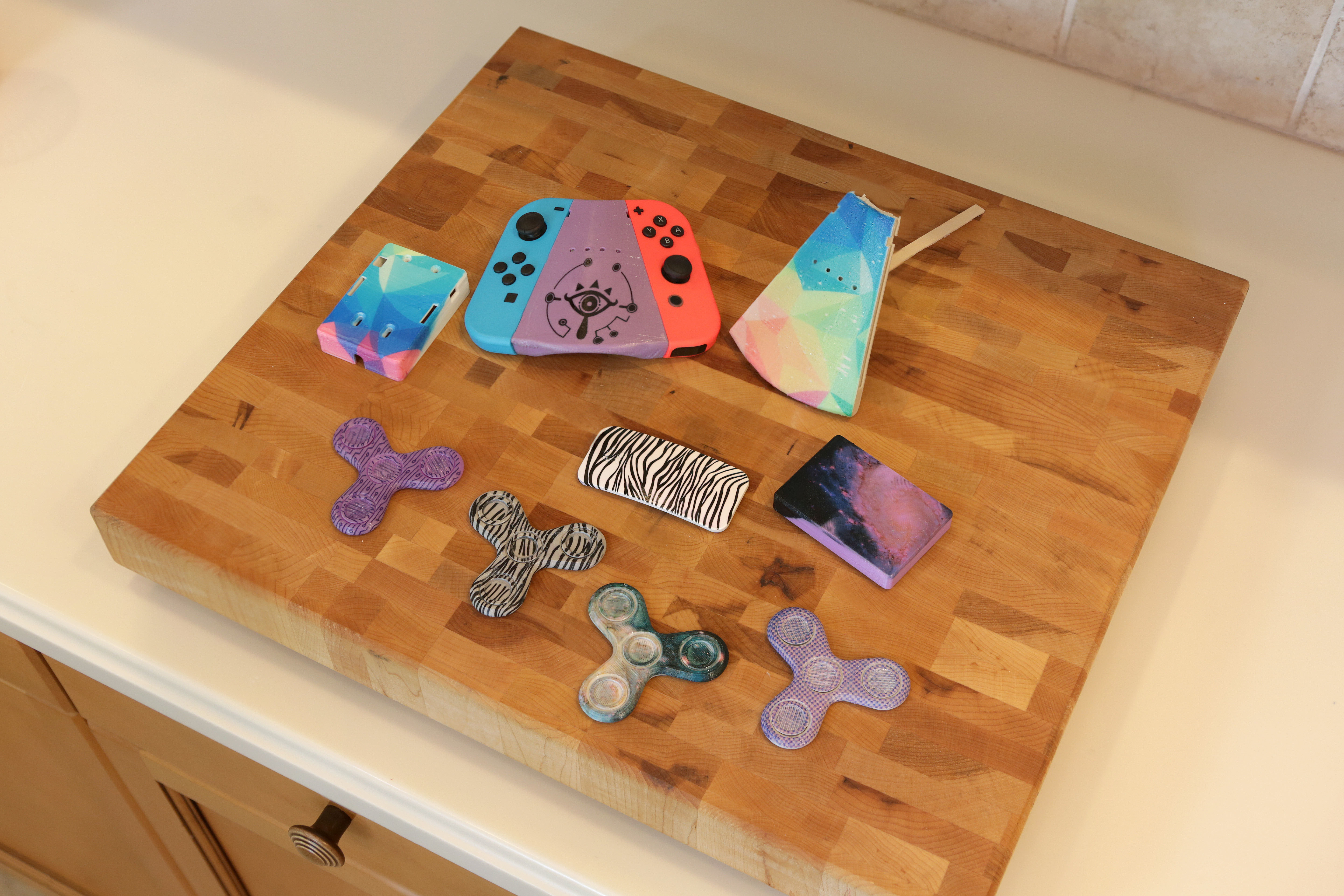 Verrassend 3D Printed Hydro Dipping 3D Prints - Add Graphics to 3D Printing PM-98