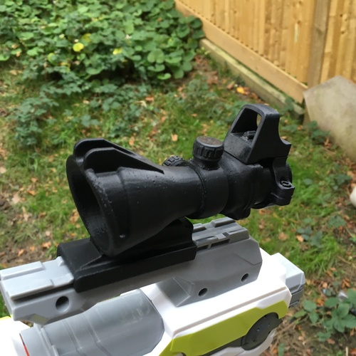 Nerf Gun Scope - ACOG Sight  3D Print 149323