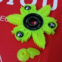 Small Peace 420 Hand Spinner - 420 Fidget Spinner - Fidget Toy  3D Printing 149433