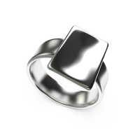 Small Sleek concave ring 3D Printing 14945