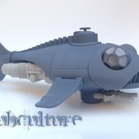 "Small ""Subculture"" submarine 3D Printing 149469"