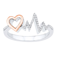 Small Exclusive 3D Jewelry CAD Model For Heart  Wedding Ring 3D Printing 149517