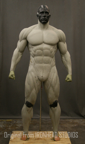 Batman muscle body for Muscle Suit Cosplay 3D Print 149528