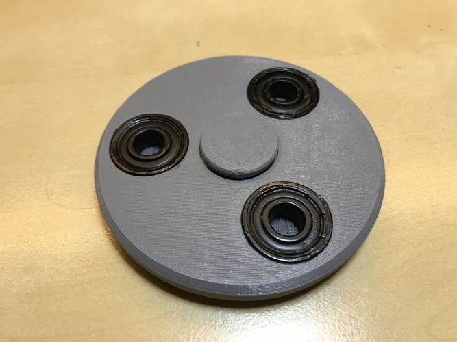 Phenakistoscope Fidget Spinner 3D Print 149609