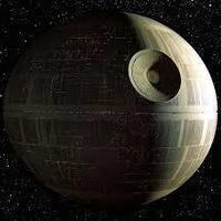 Small the death star (flat) 3D Printing 149662
