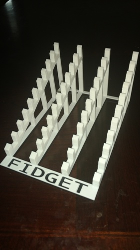 Fidget Countertop Display Stands - bundle - 5 different designs 3D Print 149714