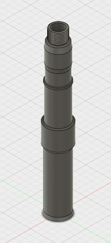 Airsoft Barrel Extender 3D Print 149763