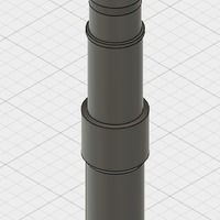 Small Airsoft Barrel Extender 3D Printing 149763