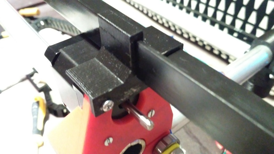 3D Printed Cable Drag Chain Mount for MPCNC by MicMak | Pinshape