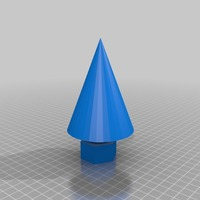 Small cone chrismas tree  3D Printing 14981