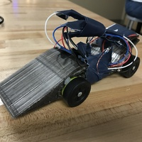 Small Quadcopter Powered Derby Racer 3D Printing 149819