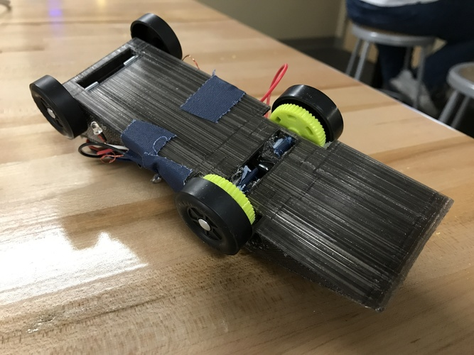Quadcopter Powered Derby Racer 3D Print 149823