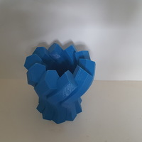 Small Twisted Hexagon Vase 3D Printing 149962