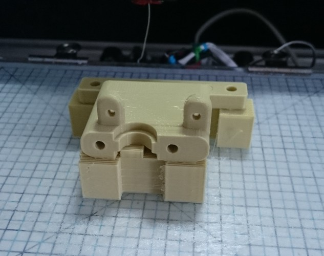 e3d V5 mount for 3drag k8200 3D Print 150054