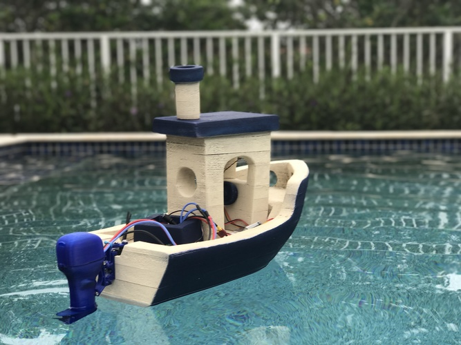 The Open Source Outboard 3D Print 150142