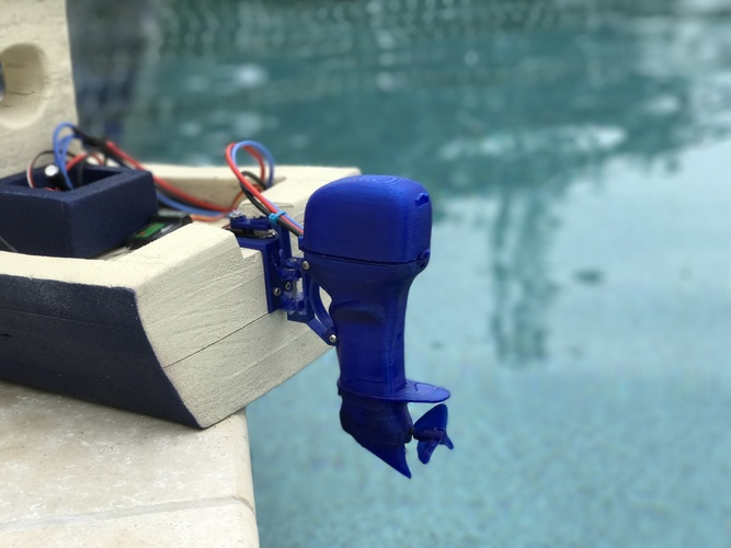 The Open Source Outboard 3D Print 150144